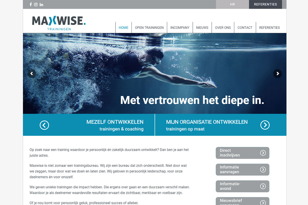 Maxwise Website