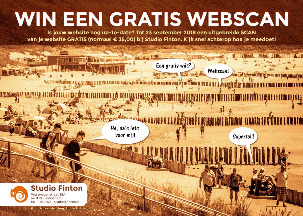 Win Een GRATIS Webscan