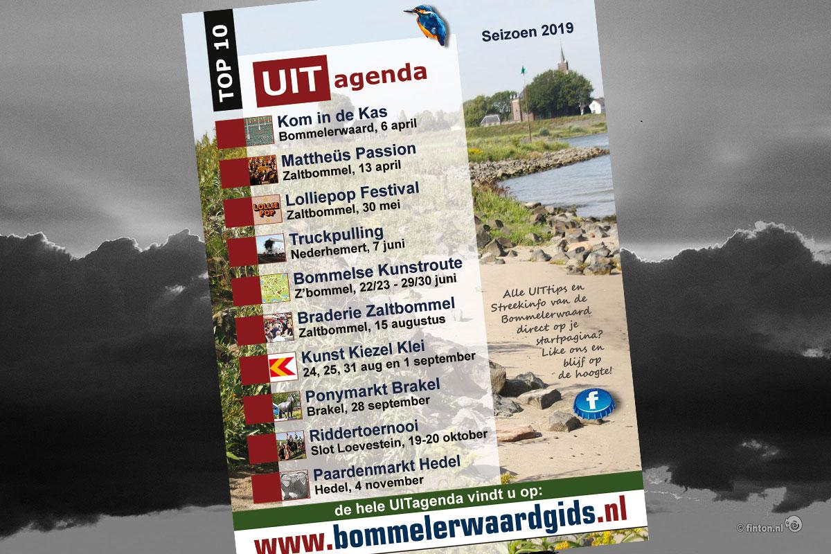 Poster Bommelerwaardgids