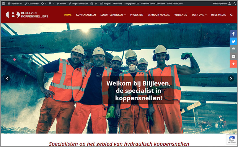 Website Blijleven Koppensnellers