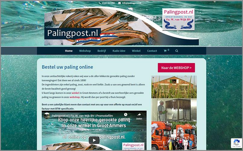 Webshop Palingpost