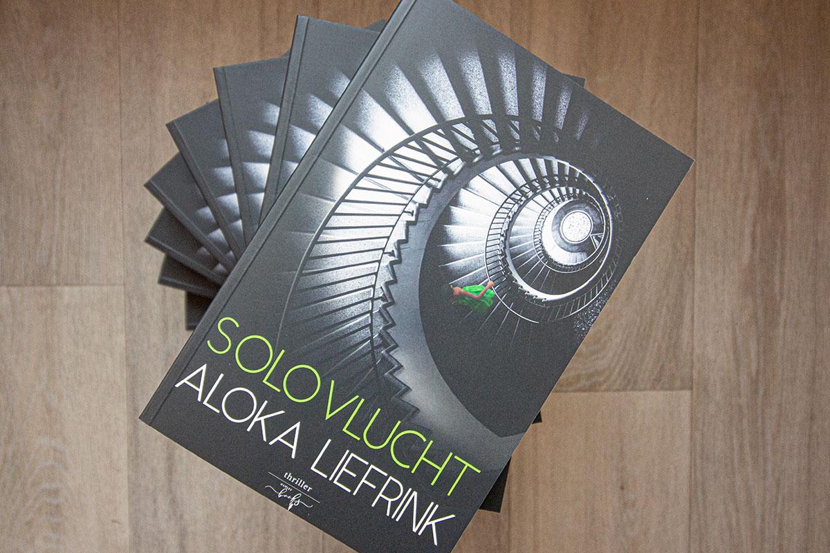 Heruitgave 'Solovlucht' Van Aloka Liefrink